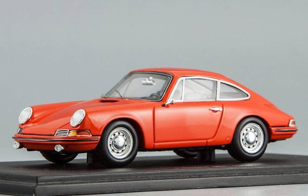 Porsche 901 1963 Rojo Spark S1369 1 43