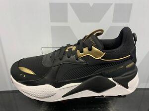 Details about Puma RS-X Toys Trophy Black Gold White GS Men Size New  369451_01