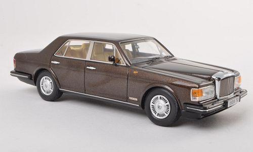 Bentley Mulsanne Rhd 1980 Metallic Brown 1 43 Model NEO SCALE MODELS