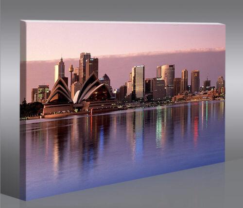 Sydney Australien 1p Bild Bilder auf Leinwand Wandbild Poster
