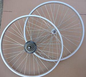 """Simple Roues 26"""" Vélo Vtt Cycle Avant Et/ou Arrière Ajouter Shimano 6/vitesse 7-afficher Le Titre D'origine"""