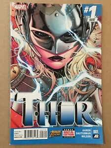 THOR-2014-1-SECOND-PRINTING-034-BLUE-034-VARIANT-COVER-VF-NM-JANE-FOSTER-2ND-PRINT