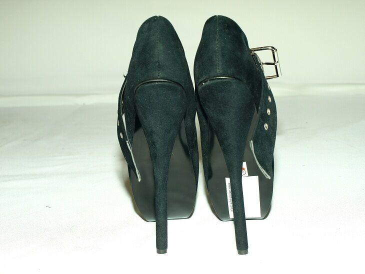 schwarz OR rot SUEDE SUEDE SUEDE BALLET PUMPS Größe 6-16 HEELS-8,5'- FS1038  BOLINGIER 14ef97