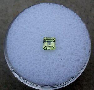 Peridot-Square-Loose-Faceted-Natural-Gem-4mm