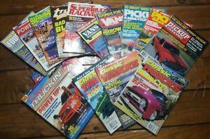 Classic-Trucks-Magazines-Assorted-Lot-Of-15-Ford-4WD-Vans-Pick-ups-1983-1997