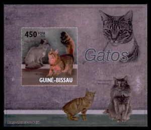 GUINEA-BISSAU-EPREUVE-DE-LUXE-KATZEN-KATZE-CATS-CAT-CHAT-GATO-DELUXE-SHEET-dr55
