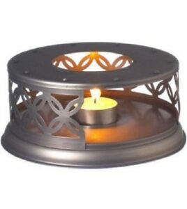 GROSCHE-Cairo-Ornate-Metal-Bronze-Finish-Teapot-Warmer-GR-172