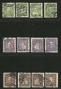 Denmark-1924-Postal-Service-300th-Anniversary-Attractive-Topical-164-75-used