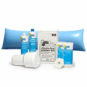 Pool Winterizing Closing Kit for Pools up to 15k Gal with 4 x 8 ft. Air Pillow
