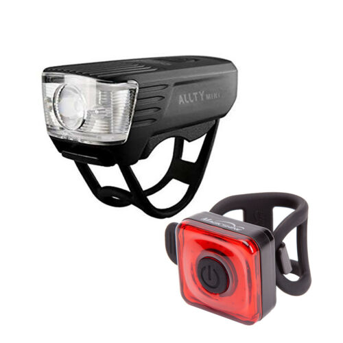 Front Headlight and Rear Safety Light for Commuter Magicshine Bike Lights Combo