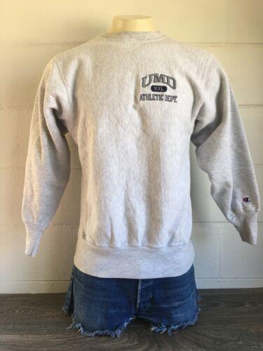 CHAMPION REVERSE WEAVE Sweatshirt 90s Vtg UMD Univ