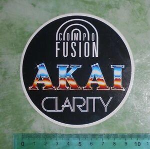 ADESIVO-STICKER-AUTOCOLLANT-AKAI-ANNI-039-80-VINTAGE-10x10-cm