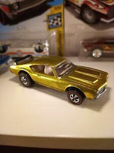 Vintage-Hot-Wheels-Redline-YELLOW-442-Rare