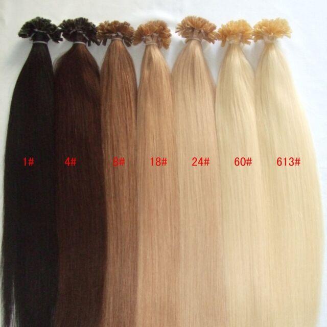 Custom Prebond Keratin Fusion Russian Double Drawn Human Hair