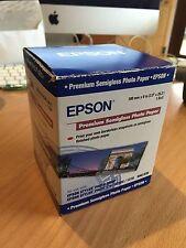 "Epson Premium Semigloss Photo Paper 100 mm x 8 m (3,9"" x 26,2') S041330"
