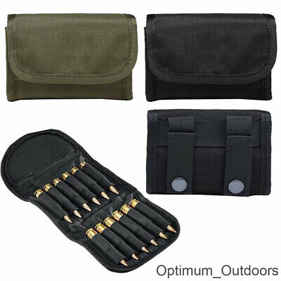 Rifle Cartridge Case with Belt Loop Bullet Holder Pouch .223 .308 .243 Carrier