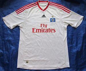 Image is loading Hamburger-SV-home-shirt-jersey-ADIDAS-2009-2010-