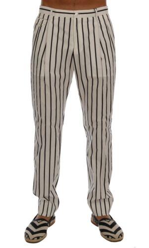 Abito Cotone Formale it44 A Di S Bianche Pantaloni Nuovo Righe Dolce Gabbana wq8YxOzH