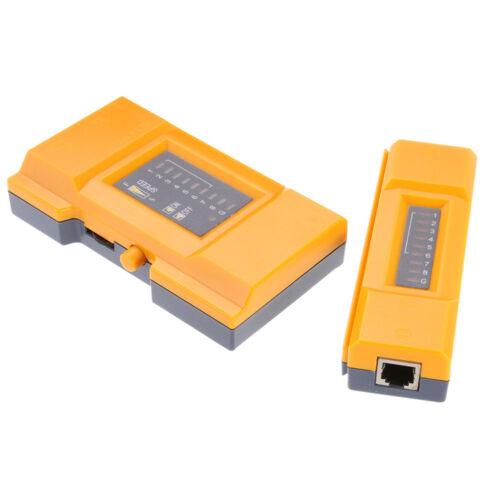 Multi-Modular Network Telephone Cable Tester RJ11 RJ45 UTP STP Cat5 Cat6 Cord
