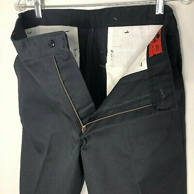 O Tags 32 X 30 New Red Kap Cargo Work Pants Black W