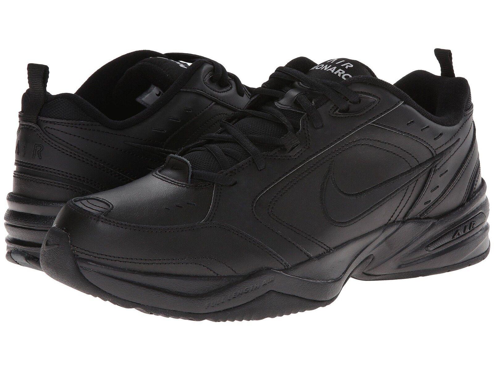 Nike Nike Nike Air Monarch IV All Black 415445001 Men's Cross Training shoes 44f152