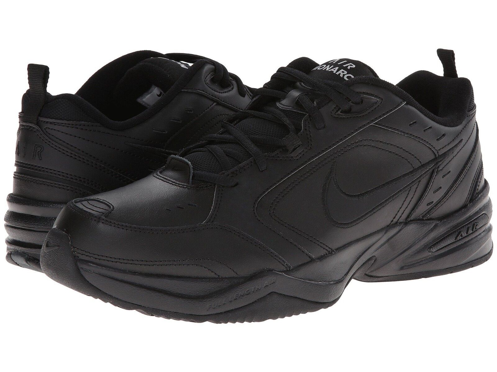 Nike Air Monarch IV All Black 415445001 Men's Cross Training shoes