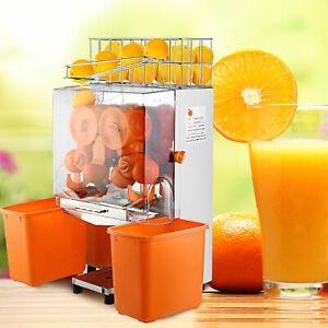 Details about Commercial Electric Orange Squeezer Juice Fruit Lemon Maker Juicer Press Machine
