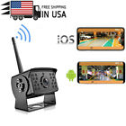 HD Wireless Backup Camera Wifi IR Camera For Truck Van Trailer Bus iOS & Android