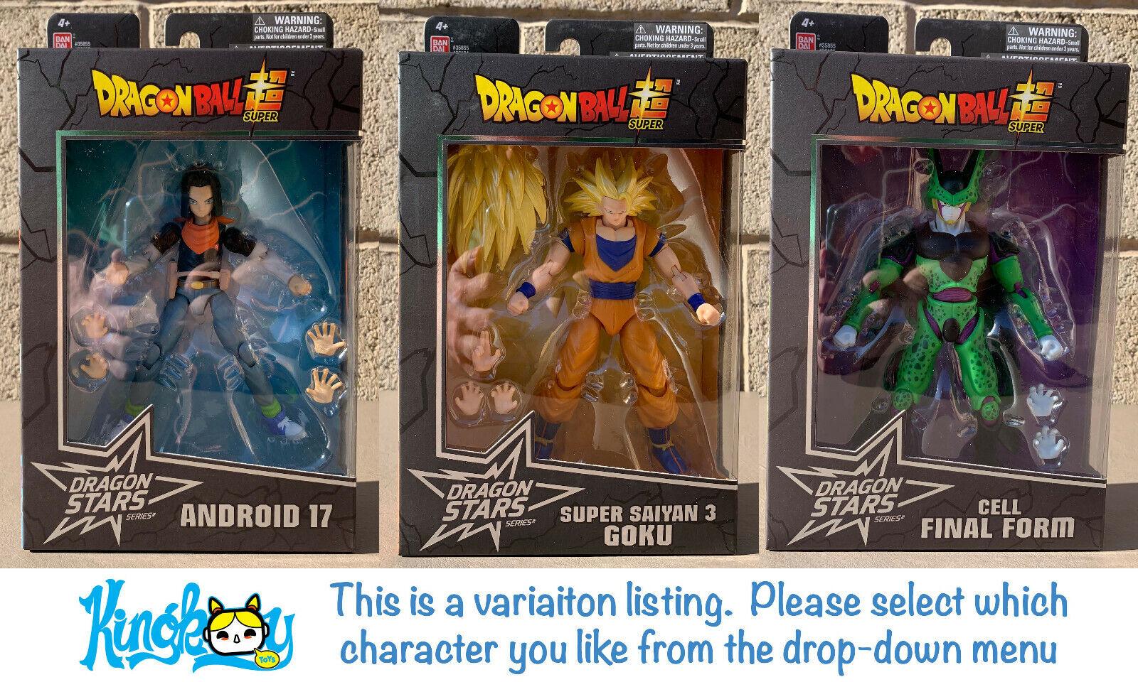Series 3 Dragon Ball Super Variation Bandai Dragon Stars Action Figures