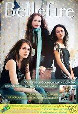 "BELLEFIRE ""SPIN THE WHEEL"" THAILAND PROMO POSTER v.1- Beautiful Irish Girl Group"