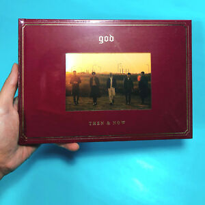 god-THEN-amp-NOW-Special-Album-CD-72p-Photobook-Poster-Option-NEW-SEALED