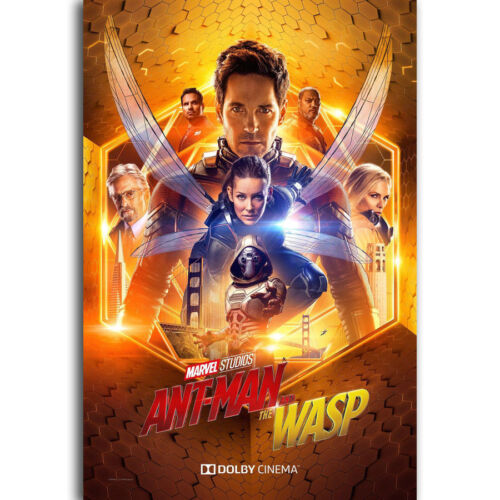 N-710 Ant-Man and the Wasp 2018 New Marval Movie Fabric POSTER 20x30 24x36