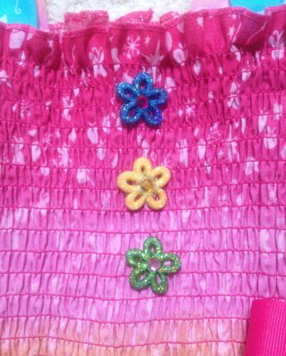 2T-8Y RARE Handmade My Little Pony Dress Toddler//Girls Doll Dress FREE bracelet