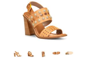 Donald Pliner Estee-35 Fawn Wedge Platform Sandal Women/'s Sizes 6-10//NEW!