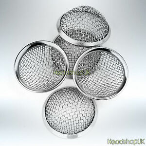 15mm Pipe Screens Gauzes Conical Stainless Steel Rimmmed