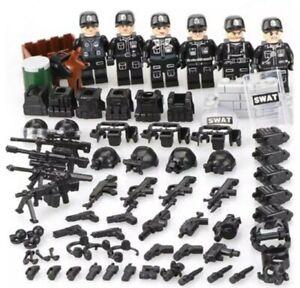 Legoing-Swat-Police-Militaires-Bloc-Construction-Cadeau-Noel-livraison-rapide