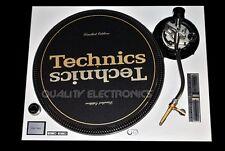 Technics Face Plate For Technics SL-1200 / SL-1210 MK5/ M3D Turntable (White)