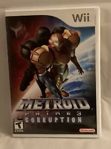 Metroid Primes Corruption Wii Game CIB w inserts
