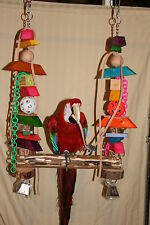 Parrot Swing (For X-large Parrots) Colorful X-Large #JK011 Toy