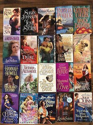 Lot Of 10 Historical Romance Paperback Books Author Mix Random Pick Ebay