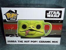 Funko Pop! Star Wars, Jabba The Hut Ceramic Mug, Smugglers Bounty Box Exclusive