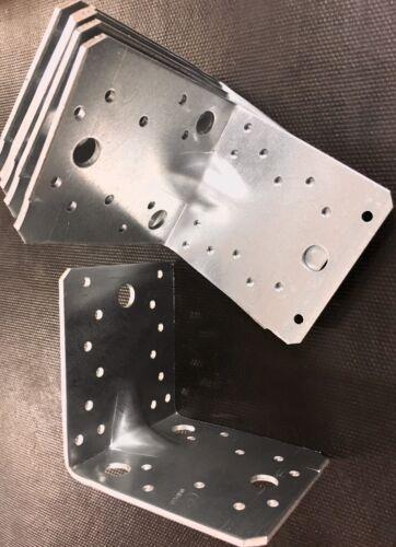 Winkelverbinder mit Steg Rippe 105 x 105 x 90 Holzverbinder Winkel Zulassung,W1