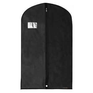 Hangerworld-40-in-Black-Breathable-Suit-Cover-Garment-Clothes-Protector-Bag