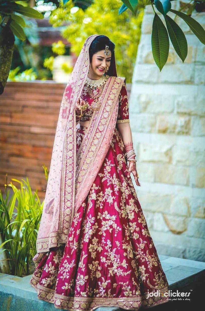Bollywood Designer rosa Lengha Semi Cucito UK STOCK pesanti Matrimonio Lengha ethni