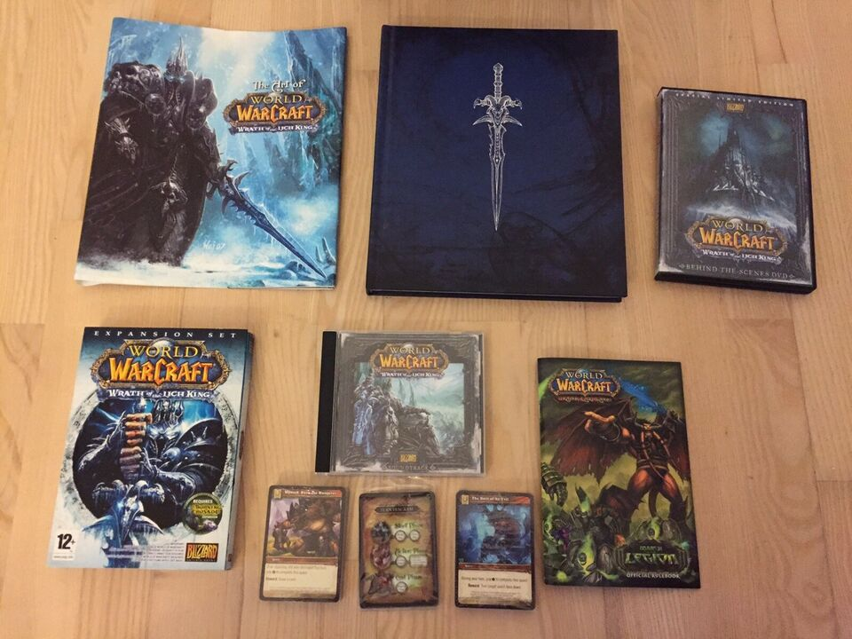 Wrath of the Lich King Collectors Edition, til pc, MMORPG