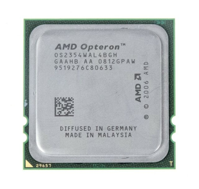 Amd Opteron 2354 2 2ghz Quad Core Os2354wal4bgh Processor For Sale Online Ebay