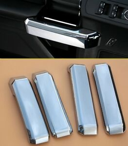 4PCS Chrome Interior door handle Cover trims For Ford F150 2015-2018 ...