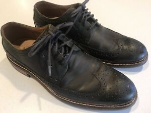 COLE HAAN Shoes olive Green Leather red