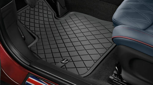 Gomma Nuovo 51472354155 Mini F55 F56 F57 Cabrio Tutte le Stagioni Tappetini Ant