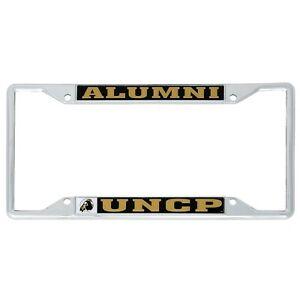 University Of North Carolina Pembroke Metal License Plate